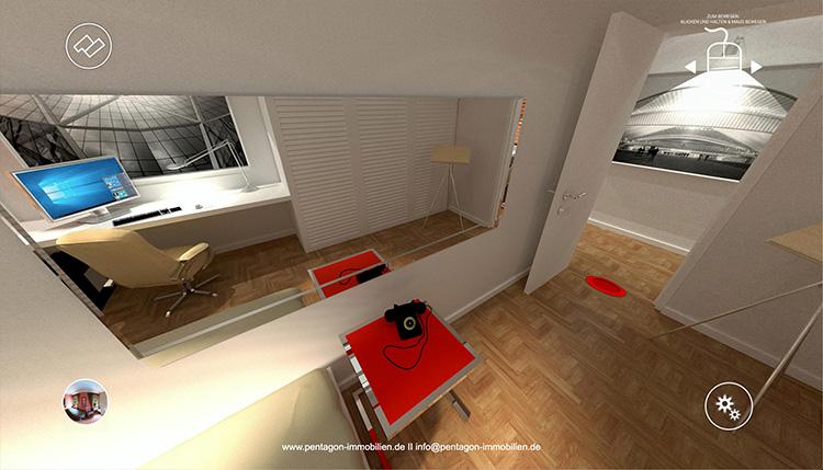3D-Rundgang Meissner Strasse 79 Schlafzimmer