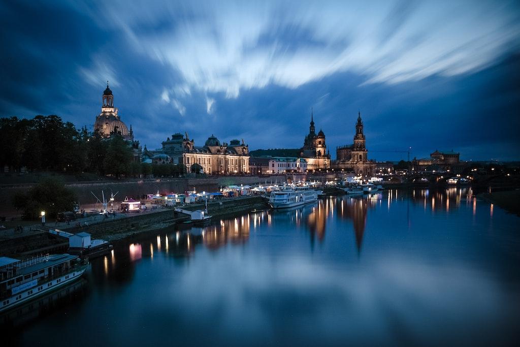Dresden Abendstimmung
