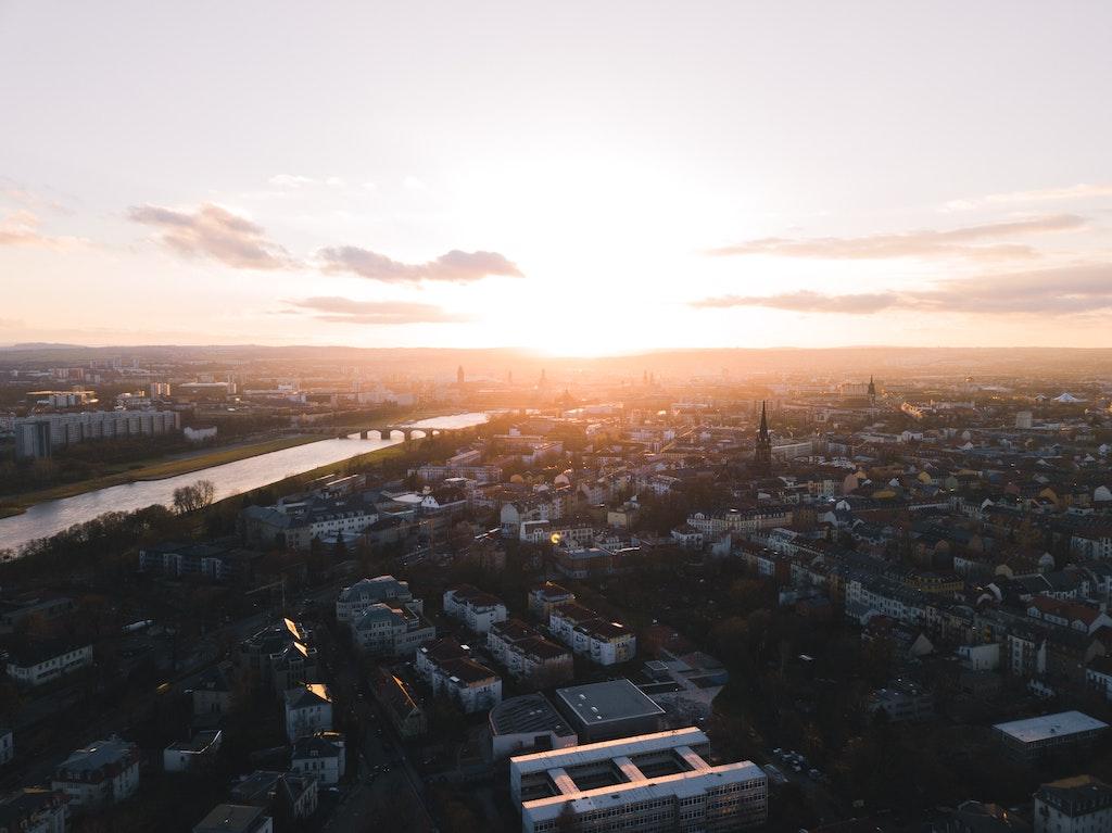 Dresden Vogelperspektive