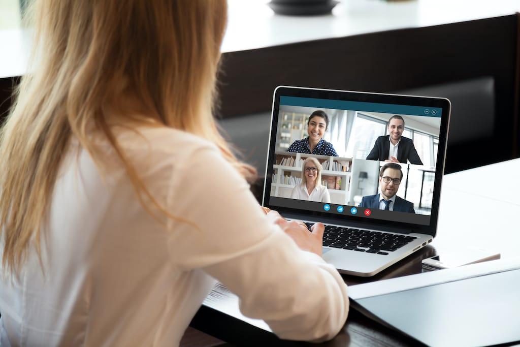 Webcam Konferenz