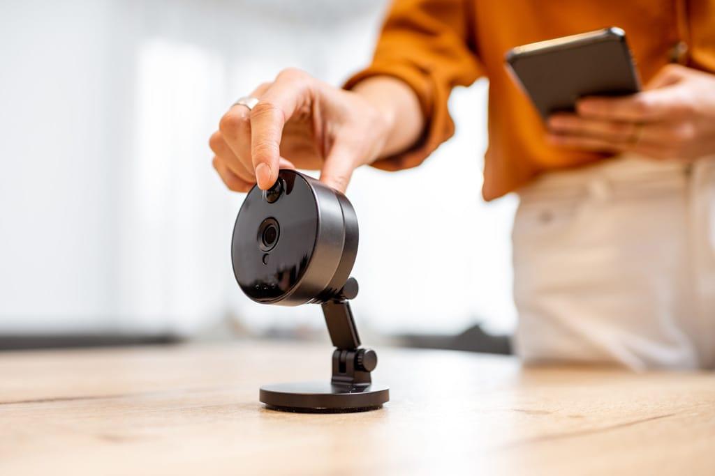 Digitalkamera Wohnungsbesichtigung