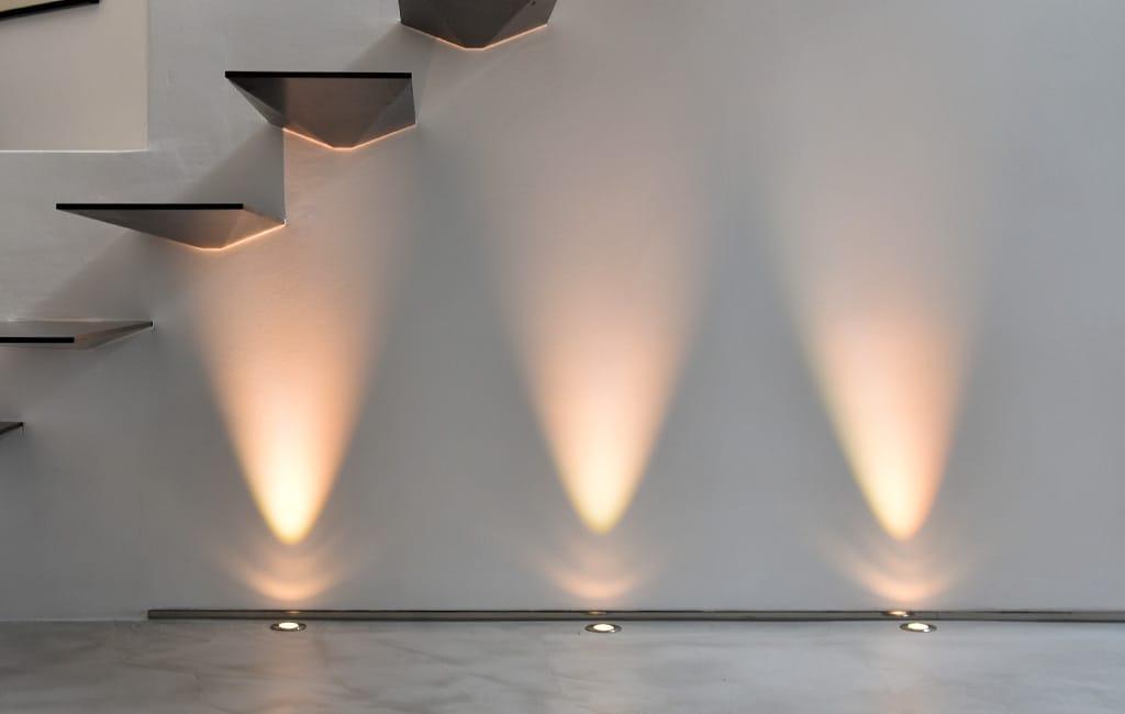 Beleuchtung Treppenunterbau