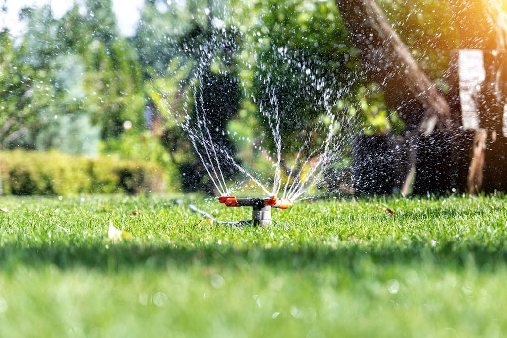 Automatisches Gartenbewässerungssystem