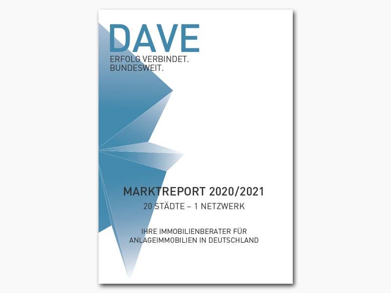 DAVE Marktreport 2020-2021 Titelseite